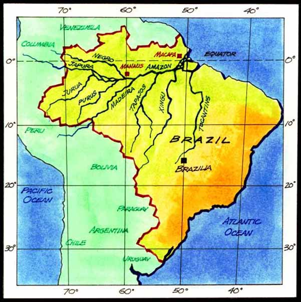 Greatest places amazon map brazil map gumiabroncs Image collections
